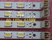 4 PCS LTI550HN02 LTY550HJ0 KDL-55HX750 LJ64-02875A LJ64-02876A LED backlight bar 55INCH-0D2E-60 S1G2-550SM0-R1 60 LEDs 618MM  стоимость