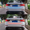 Multi Function Car RGB LED Strip Trunk Tail Light Brake Lamp Turn Signal Reverse Warning Light