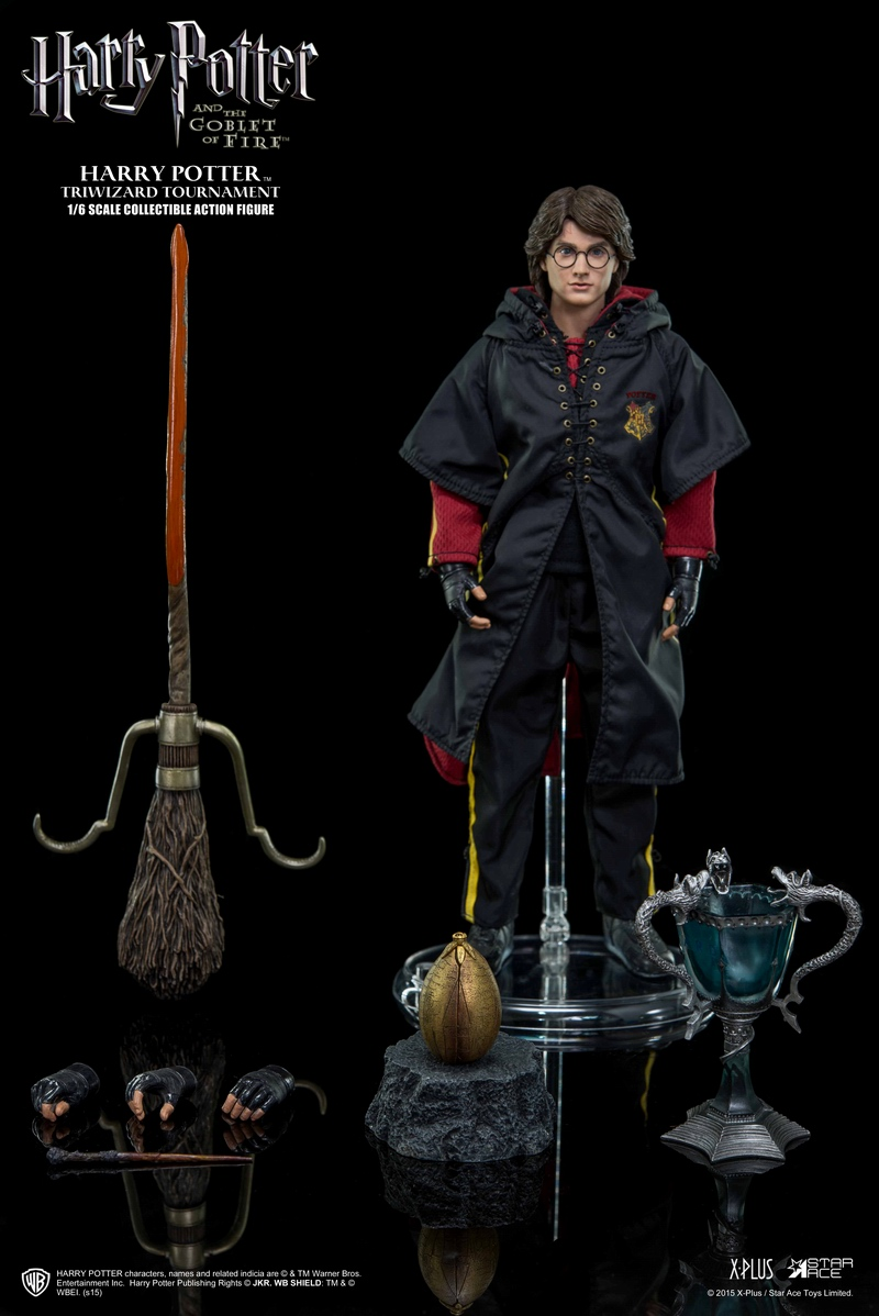 1/6 Collectible Figure doll Harry Potter and the Goblet of Fire Tri-wizard Tournament 12 action figure doll Plastic Model Toys the mortal instruments 6 city of heavenly fire