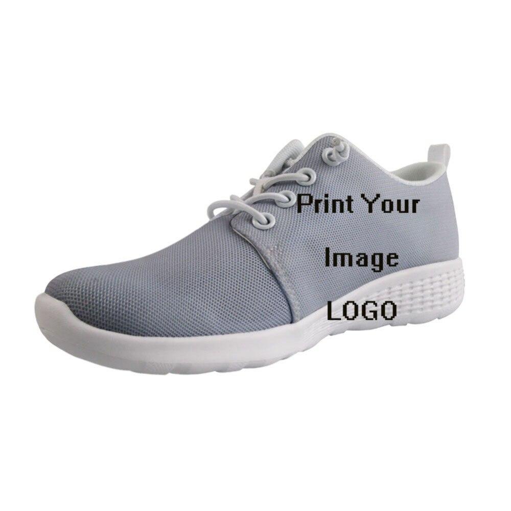 Image personnalisée LOGO impression chaussures de Wading en plein air séchage rapide mâle à lacets trous Sneaker hommes garçon chaussure lumineuse chaussures d'eau d'été