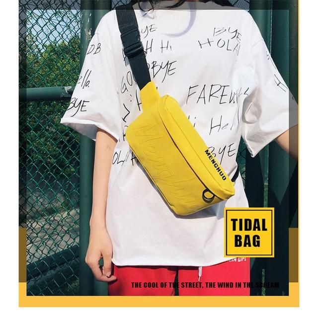 2018 Fashion Women Bag Belt Oxford Designer Waist Bag Fanny Packs Shoulder Bags Crossbody Chest Bag for Ladies Girls Money Phone