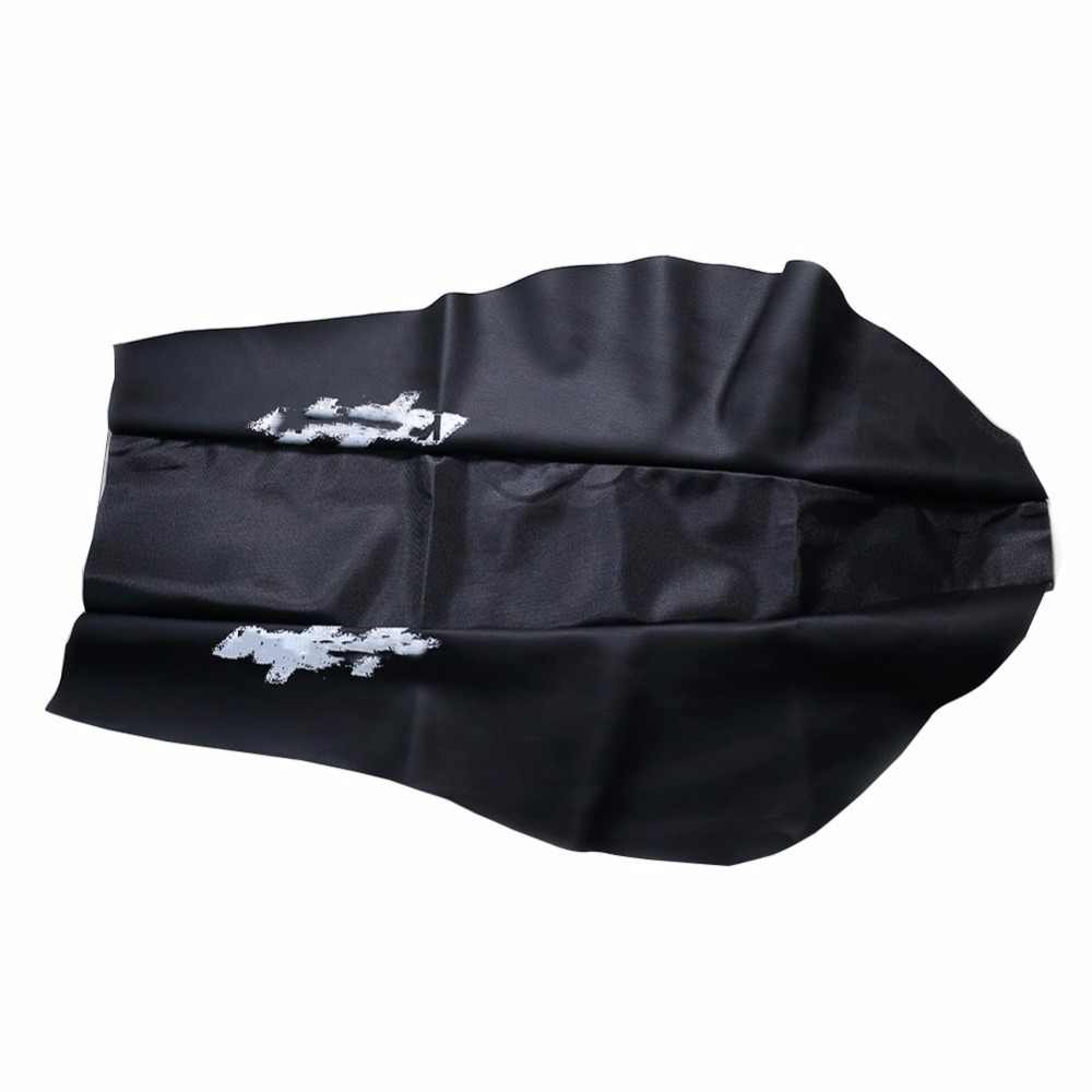 KDX 200 KDX 250 waterproof KDX200 KDX250 Leather seat skin cushion saddle cover for Kawasaki 250cc seat spare parts Black Red