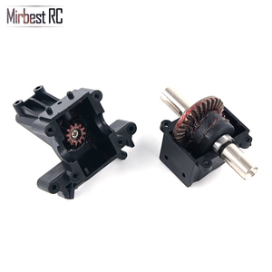 Image 3 - Mirbest RC DIY Parts For Wltoys 12428 Parts 12423 RC car parts Metal gear differential front wave box 12428 Upgrade accessories