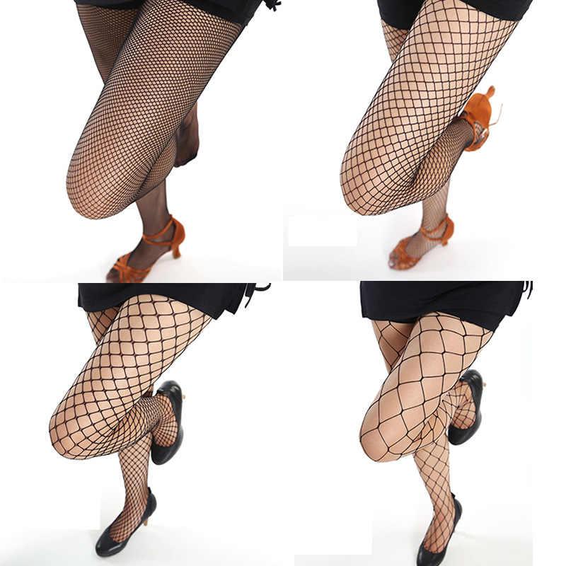 CA085 Sexy delle donne trasparente Calzamaglia colorata estate sottile classico collant a rete con i jeans di modo di partita calze grande rete