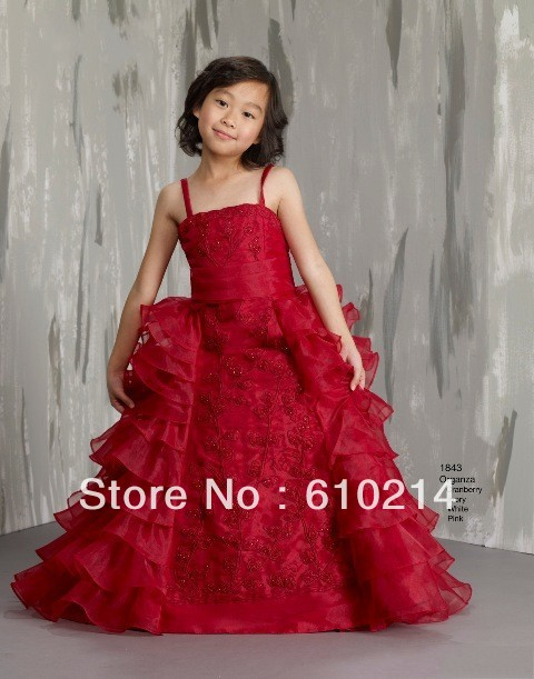 gown party dress Picture - More Detailed Picture about Pretty Red ...