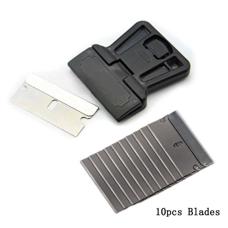 3M Felt Edge Squeegee Car Vinyl Wrap Application Tool Plastic Scraper Decal N3