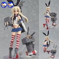 A zabawki sen 15 cm Anime collection shimakaze Figma Floty 214 PVC Figurka Kolekcja Klocki Lalki 15 cm Darmo wysyłka