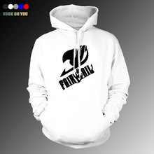 Fairy Tail anime Autumn and winter new printing casual long-sleeved Hoodies hedging