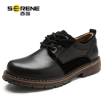 Men's Shoes New Autumn British Retro Outdoor Leisure Style Shoes Martin Black Yellow Hard-Wearing Spring Summer Classic for Men