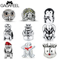 GAGAFEEL Beads For Jewelry Making Charms Fit For Pandora Bracelet DIY Animal Bead Women Necklaces Chain Pendant New Year Gifts