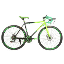 Machete road bike 700C race double disc brake speed mountain racing