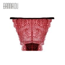 1 Pieces Sexy Lace Briefs Underwear Woman Lingerie Low Waist Good Quality Soft Female Panties New M-XL Hot Sale Fashion BANNIROU