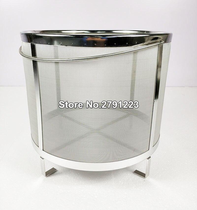 New Beer Wine House Home Brew Filter Basket Stainless Steel Strainer Hip Spider Cylinder Barware Bar