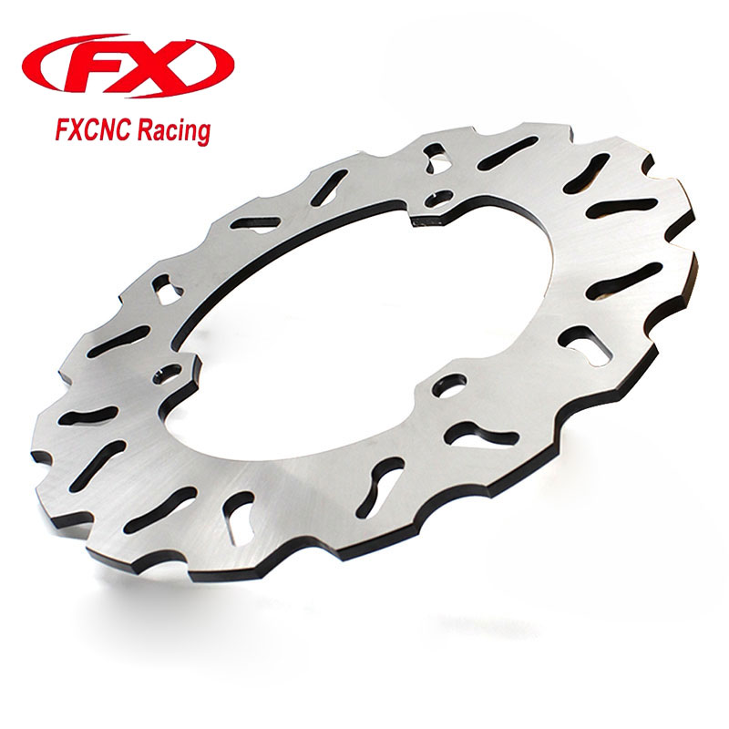 FX CNC Motorcycle 220mm Rear Brake Disc Disks Rotor For YAMAHA R25 R3 2015-2016 Motorbike Front Brake Disc Disks Rotor