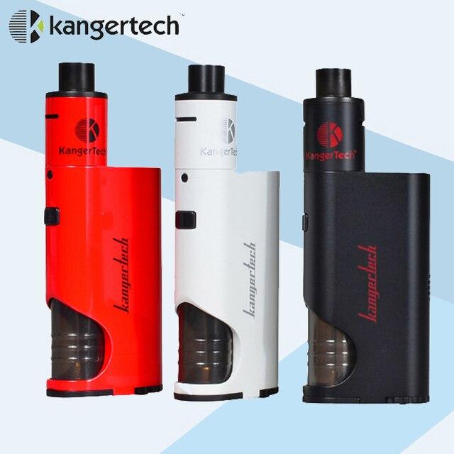 Оригинал Kanger Starter Kit с Subdrip Dripbox 7 мл Бак жидкостью vape и 60 Вт mod Dripbox Комплект Kangertech испаритель электронная сигарета