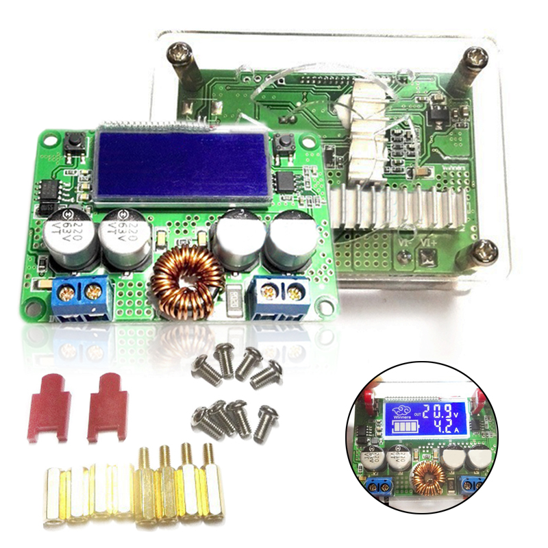 цена на New 7A Step Down Module DC-DC Voltage Regulator Step Down Power Supply Module Kit 8V-60V 48V 36V to 5V 12V 3V-32V