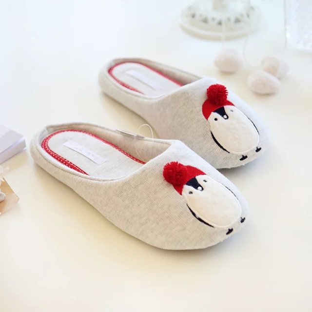 D'hiver et d'amour d'hiver à la maison chaussures en coton chaud chaussures d'intérieur non - glissement doux - chaussures ynlBZNf