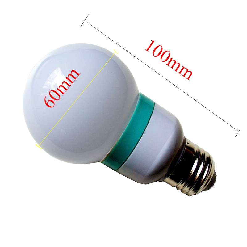 E27 LED 7 Color Changing RGB Magic Light Bulb Lamp 2835 Lamp beads use for Christmas Days Background Wall ad Decoration in Advertising Lights from Lights Lighting