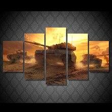 HD Gedruckt Tanks sonnenuntergang landschaft Malerei Leinwanddruck raumdekor poster drucken bild leinwand Freies verschiffen/ny-4348