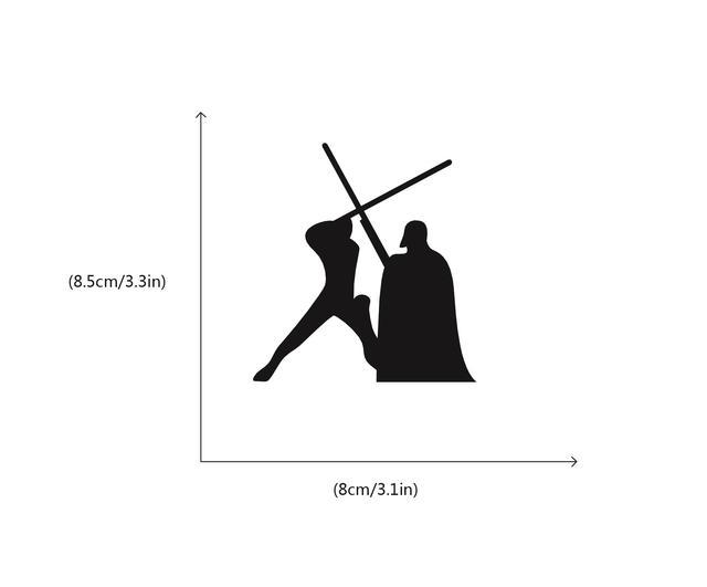 Star Wars Darth Vader Switch Sticker For Kids Room