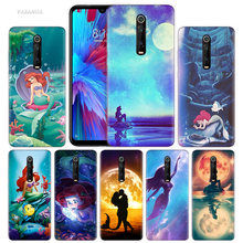 Anime The Little Mermaid Case for Xiaomi Redmi Note 7 7S K20 Y3 GO S2 6 6A 7A 5 Pro MI Play 9T A1 A2 8 Lite Poco F1 Phone Bags(China)