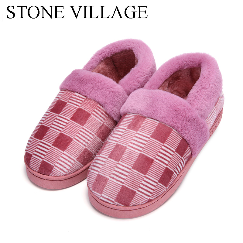 High Quality Plaid Print Cotton Men Slippers Soft Warm Plush Slippers Unisex Home Slippers Indoor Shoes Women Slippers Shoes pd132 inductive vehicle loop detector metallic mass detectors loop sensor for automatic barrier gate