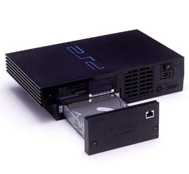 BitFunx 8 mb FMCB + SATA HDD adaptateur + 320 gb SATA HDD avec 70 jeux installés pour PS2 GRAISSE console pour playstation 2