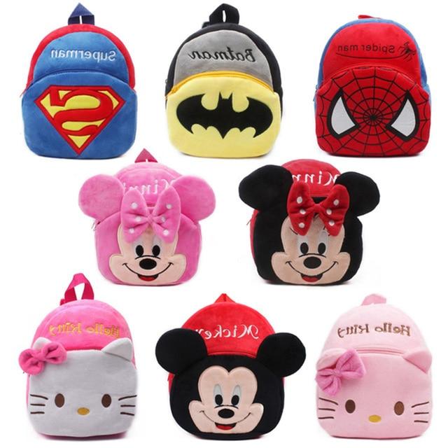 Cute Children s school bag cartoon mini plush backpack for kindergarten  boys girls baby kids gift student lovely schoolbag New 9f43e75865a4d
