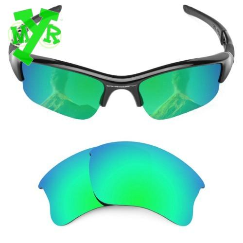 9e87ff3a6f548 Mrylens polarizadas lentes de reemplazo para Oakley Flak Jacket XLJ  esmeralda verde gafas de sol de los anteojos del precio bajo venta al por  mayor en Gafas ...