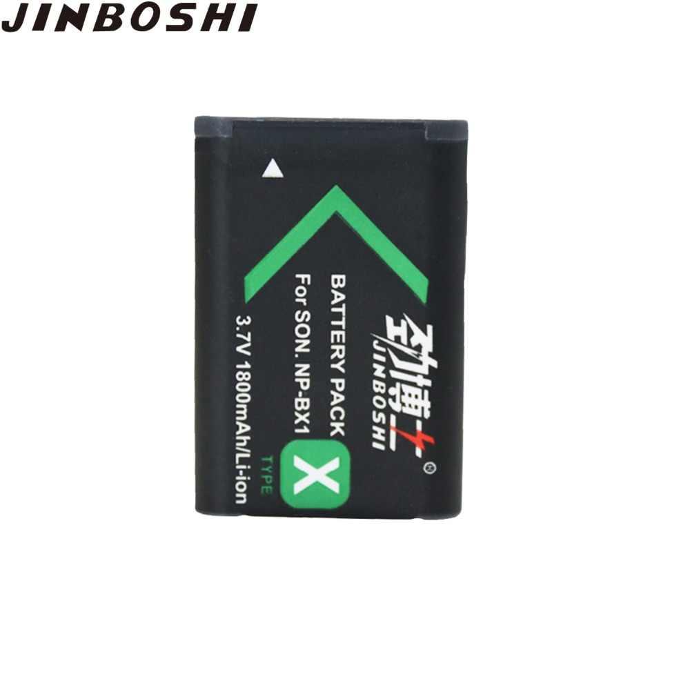 6 упаковок Высокая емкость 1800 mAh NP-BX1 NPBX1 NP BX1 Камера Батарея для sony DSC-RX100 RX100 HDR-AS15 литий-ионный Перезаряжаемые батареи