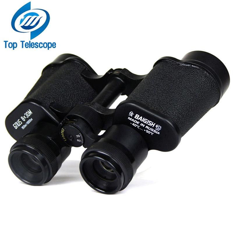 BAIGISH 8x30 Lovački binokularni teleskop Visokokvalitetni prizma zoom objektiv na otvorenom Sportsko putovanje Kampiranje crne boje
