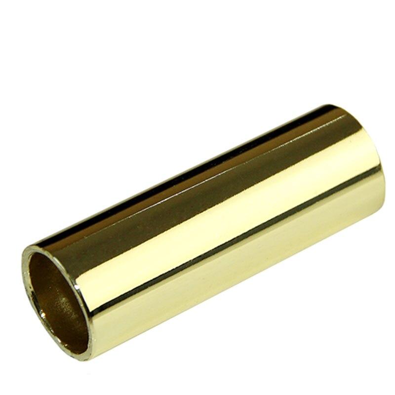 Stainless Steel Guitar Slider Finger Knuckle String Slides Tube 70mm Golden