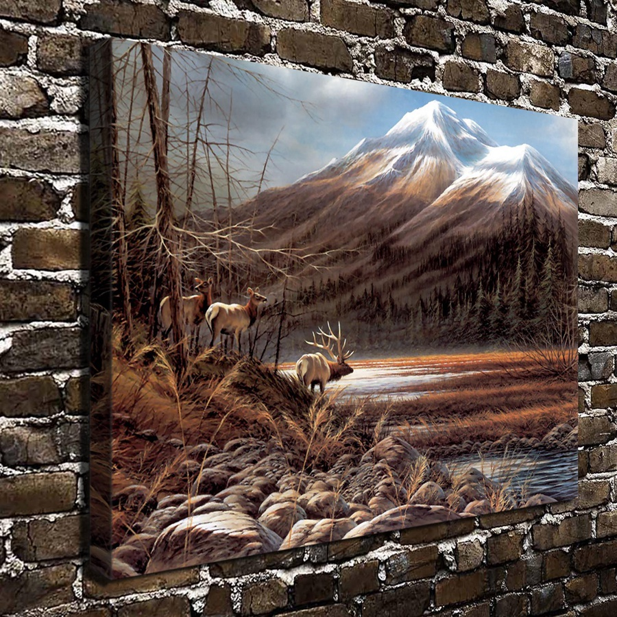 A738 The Art of Terry Redlin The Masters Domain .HD Canvas Print Home decoration Living Room bedroom Wall pictures Art painting