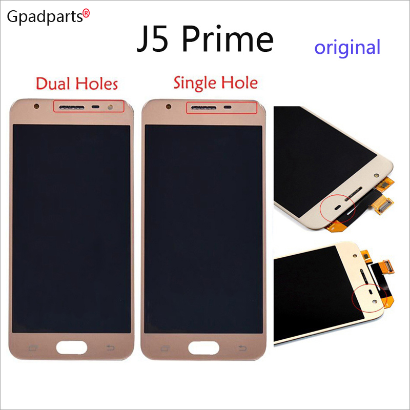 5inch ORiginal LCD For Samsung J5 Prime LCD On5 2016 G570F/DS G570M Display touch screen assembly