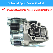 Easy Install VTEC Solenoid Valve Kit For Acura RSX Honda Accord Civic Element CRV high quality 28260 rpc 004 transmission dual linear solenoid for honda civic fit 07 08