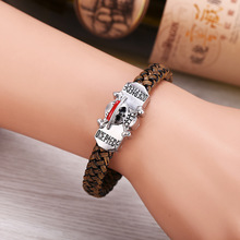 Anime One Piece Luffy Leather Bracelet