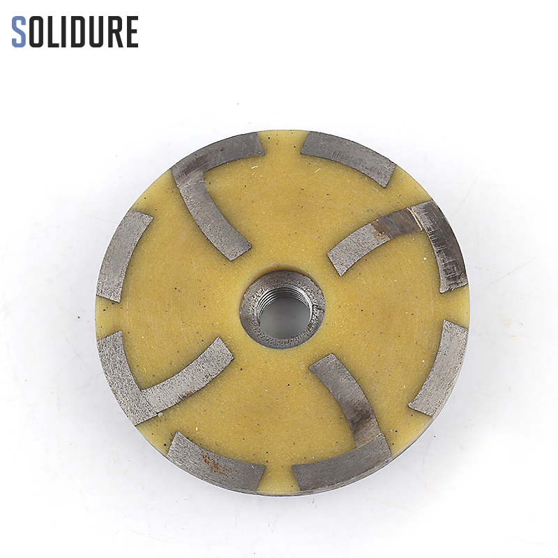 100mm Grit 150# Resin Filled Diamond Grinding Cup Wheels With Iron Backer For Grinding Stone,concrete And Tiles
