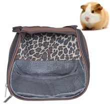1Pc Breathable Mesh Cloth Small Pet Carrying Bag Carrier Portable Travel Tote For Hamster Squirrel