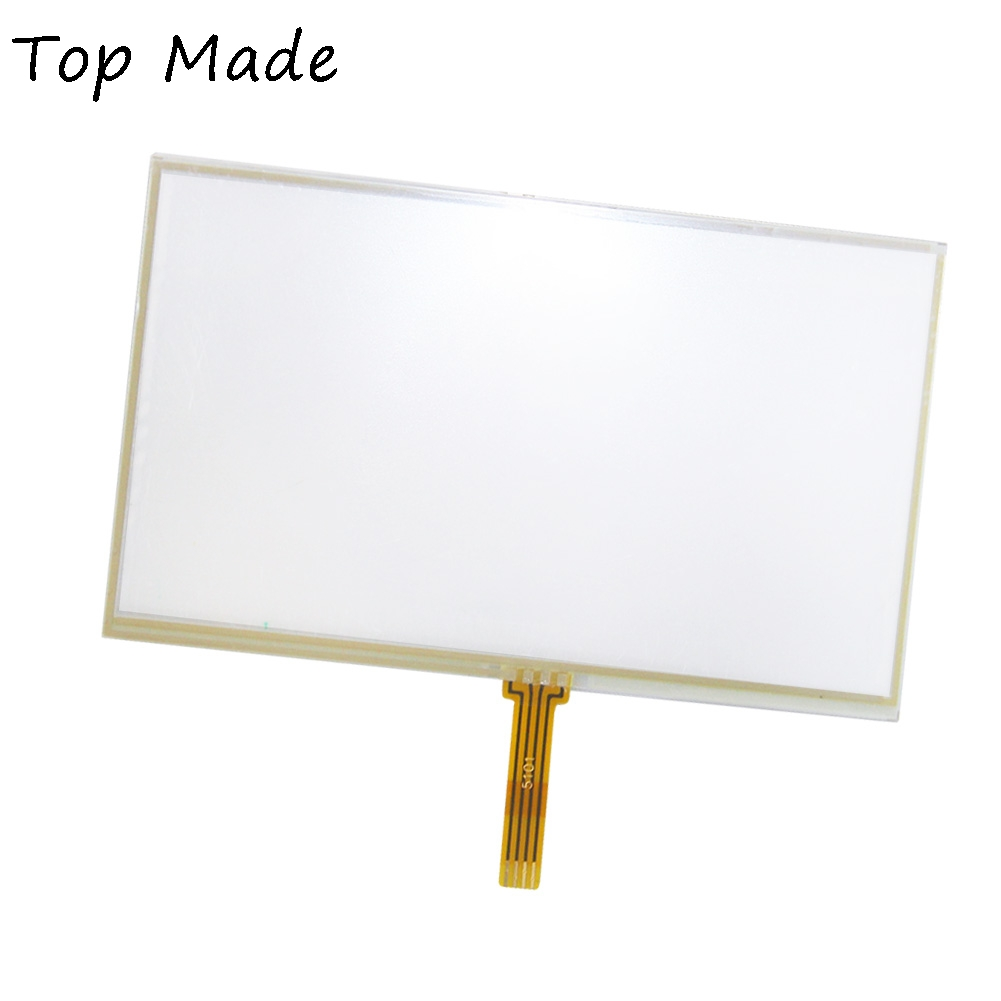 5 inch GPS Navigation Universal Panel for MP4 MP5 Touch Screen 117*70mm 117x71mm Digitizer with Sticky Thicken for philips intellivue mp30 intellivue mp5 touch panel