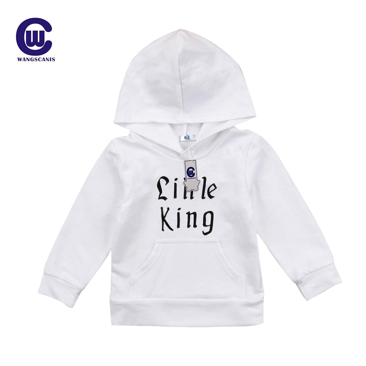 2017 Neue Brief Kids Baby Jungen Sweatshirt Langarm Mit Kapuze Mantel Oberbekleidung Winter Kind Jungen Kleidung