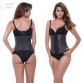 Latex Corset Steel Boned Corselet Women Waist Train Corsets and Bustiers Plus Size Underwear Body Bodice Waist Trainer Shapewear