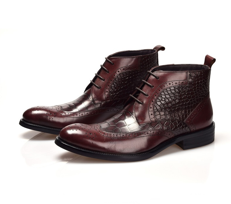 Compare Prices on Mens Leather Dress Boots- Online Shopping/Buy ...