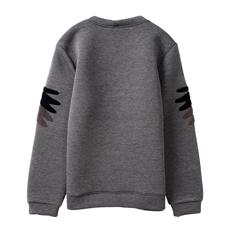 Duyou men hoodies 핫 세일 패션 브랜드 후드 남성 캐주얼 후드 자수 이글 힙합 코튼 긴 소매 스웨트-에서후드티 & 스웨터부터 남성 의류 의  그룹 2
