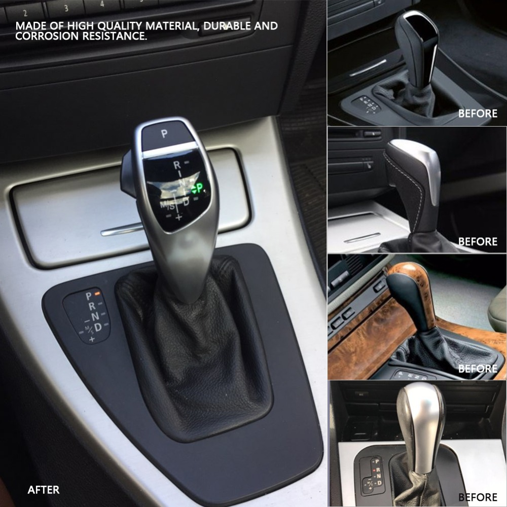 Auto Car Manual Gear Shift Knob Stick LED Shift Lever LHD Automatic Gear Shift Knob For