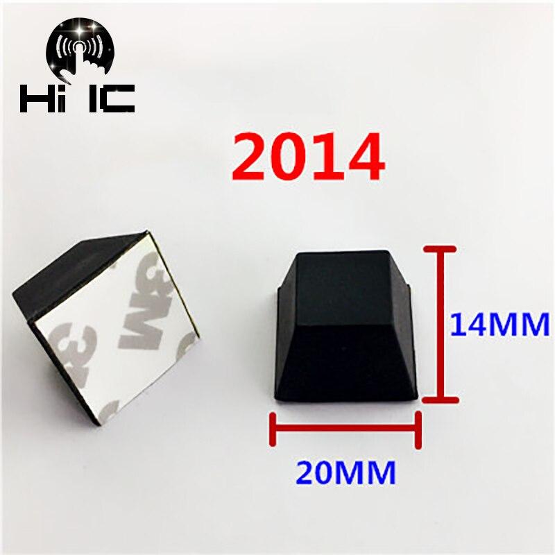 Circuits Latest Collection Of 20pcs Hemisphere Trapezoidal Column 3m Speaker Amplifier Shock Absorber Feet Pad Vibration Rubber Anti-shock Self-adhesive