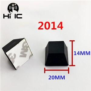 Image 2 - 20pcs Hemisphere Trapezoidal Column 3M Speaker Amplifier Shock Absorber Feet Pad Vibration Rubber Anti shock Self adhesive