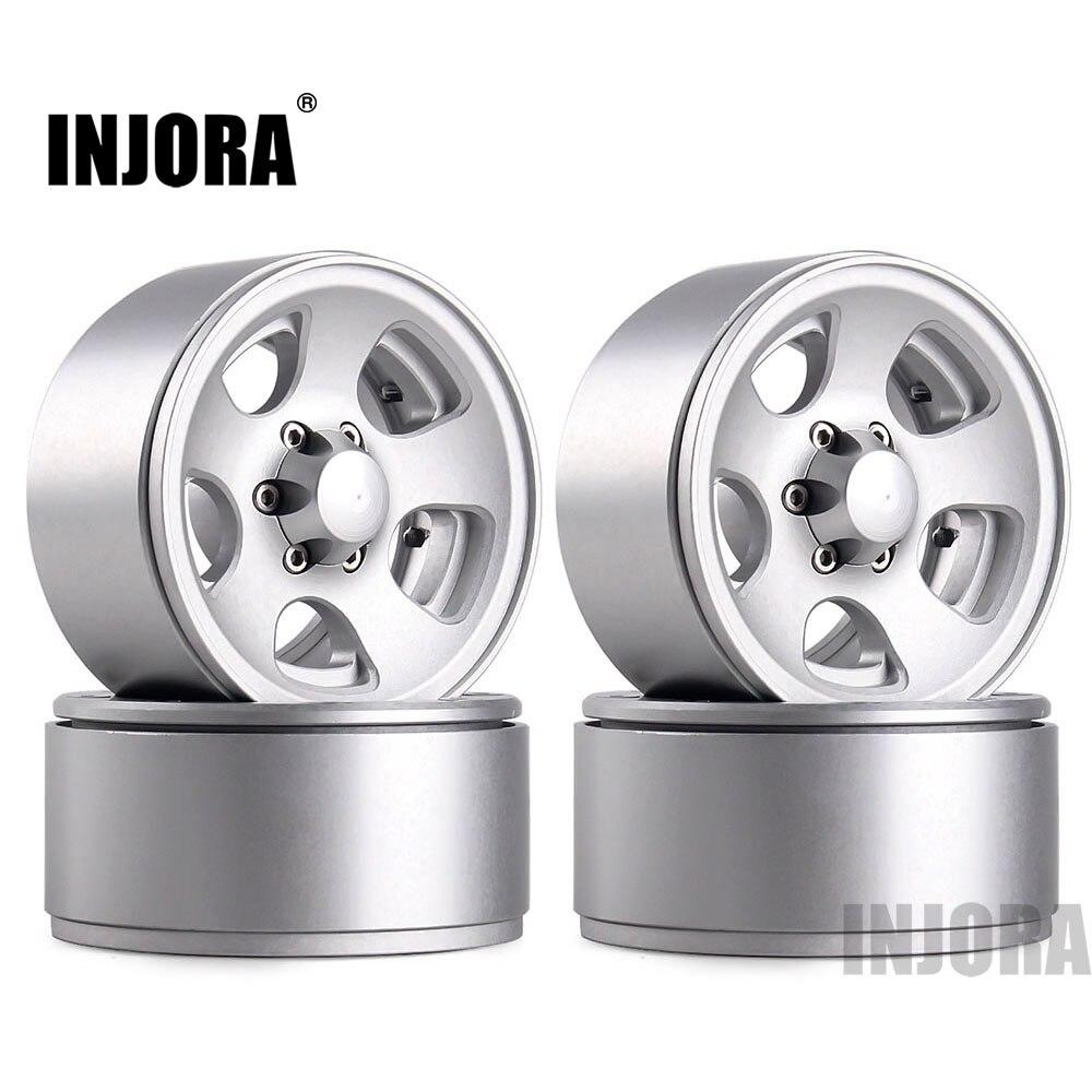 INJORA 1 9 Beadlock Classic Metal Wheel Rim for RC Rock Crawler Axial SCX10 90046 Traxxas