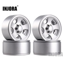 INJORA-jante de roue en métal classique bedlock 1.9, pour RC, roche, chenille axiale SCX10 90046 Traxxas TRX4 D90