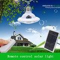 Lámpara Solar de múltiples funciones de Super Brillante 22 LED luz Nocturna Regulable con Mando a distancia para Garaje Patio Mirador Pasillo techo