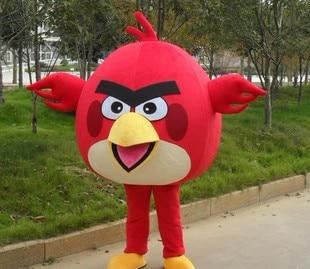 BING RUI CO Yetkin Ölçü Qırmızı quş Mascot Kostyum Yetkin - Karnaval kostyumlar - Fotoqrafiya 3